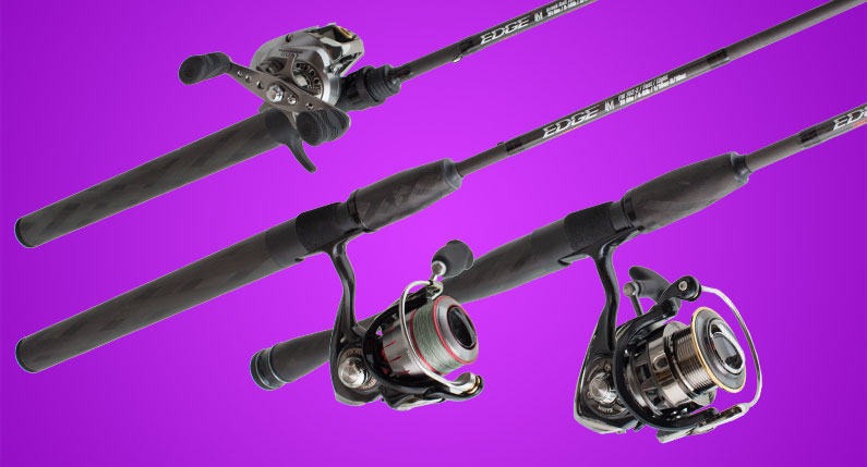 Gary loomis edge rods tackle junkietackle junkie for Edge fishing rods