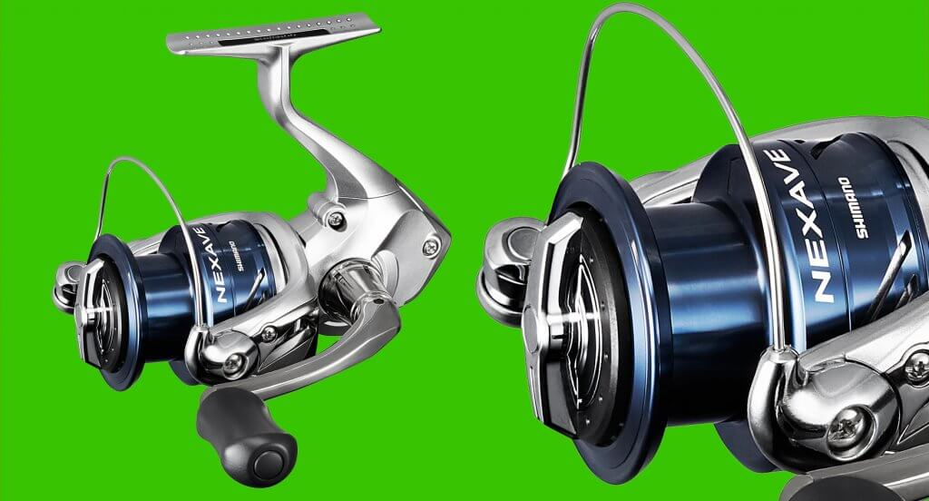 10a80abc177 Shimano's Nexave spin reels represent great value for money for an entry  level series, perfect for newcomers and kids who need the right start in  fishing.